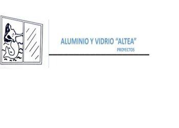 """Canceles de Baño con Acrílico - ALUMINIO Y VIDRIO """"ALTEA"""""""