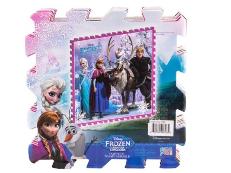 Tapete de goma armable Frozen