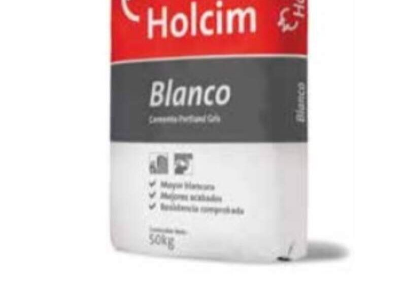 Cemento Holcim Blanco