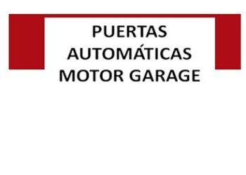 Puertas industriales - PUERTAS AUTOMÁTICAS MOTOR GARAGE