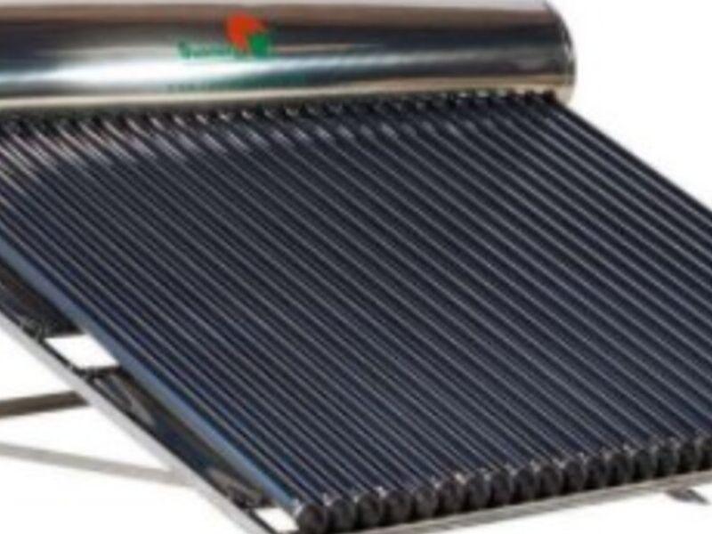 CALENTADOR Solar de Acero Inoxidable MÉXICO