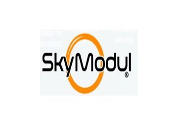Aro decorativo negro - Sky Modul