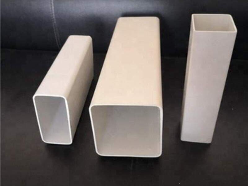 TUBO RECTANGULAR PVC
