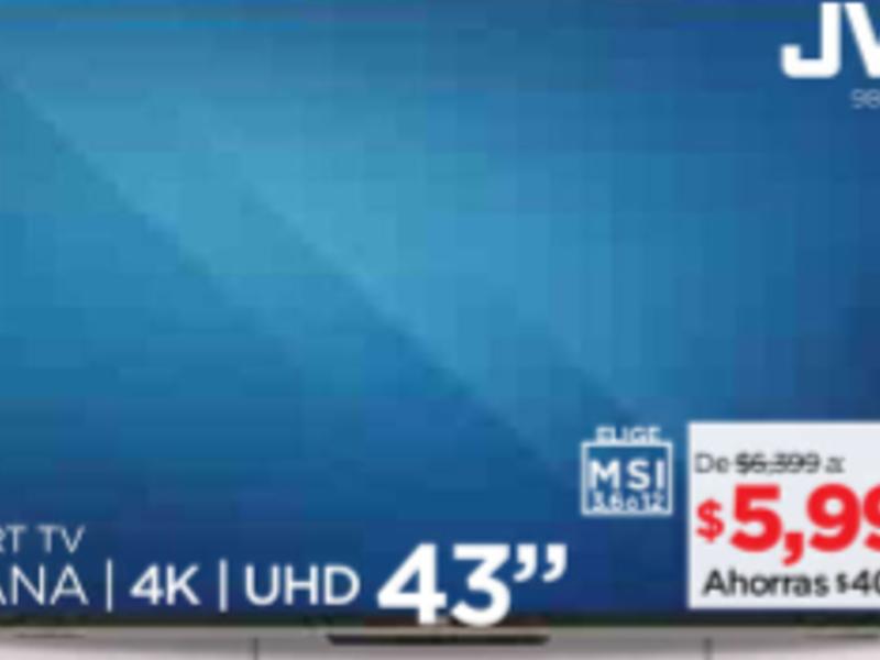 SMART TV 43''
