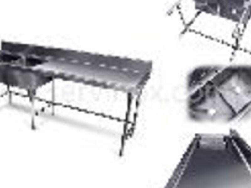 Fregadero Doble Tarja en Acero Inoxidable