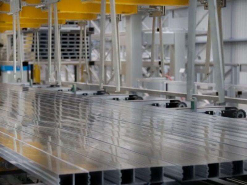 Perfiles de alumino para industrias