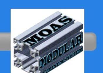 Perfil 20X20 MM MÉXICO DF - Moas Modular Aluminum System