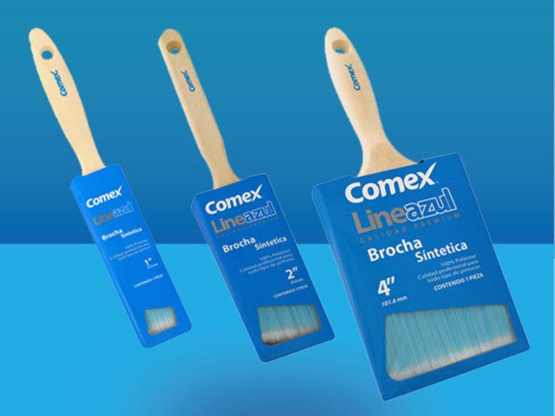 Brocha Comex Linea Azul  - COMEX PINTURAS  | CONSTRUEX