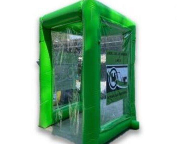 Cabina Inflable con Sistema de Nebulizacion