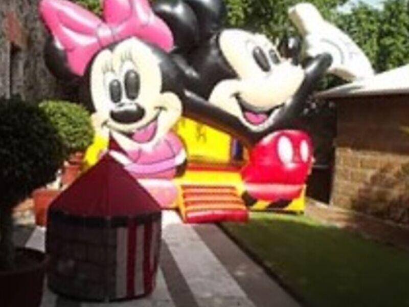 INFLABLE Mickey & Minnie MÉXICO DF