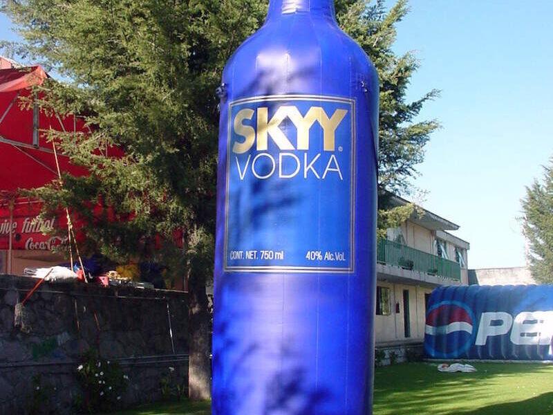 Replica inflable (botella)
