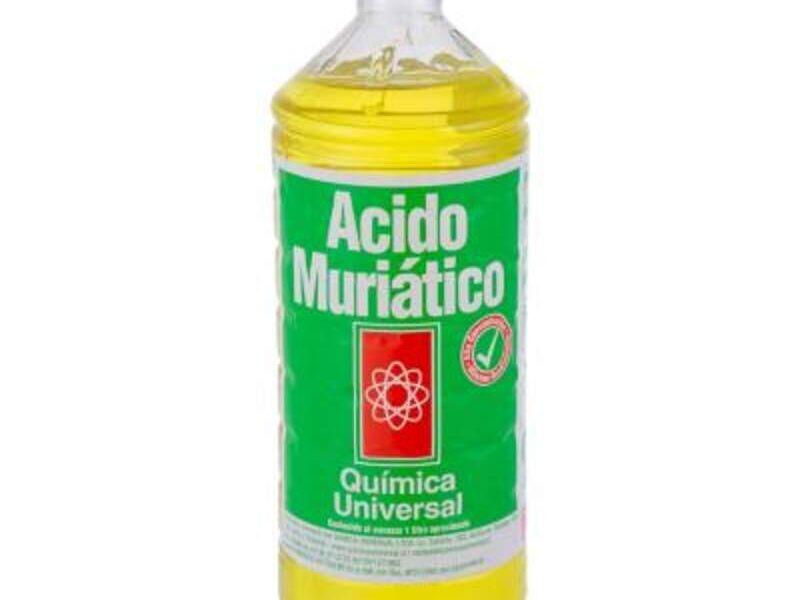 Ácido muriático MÉXICO DF