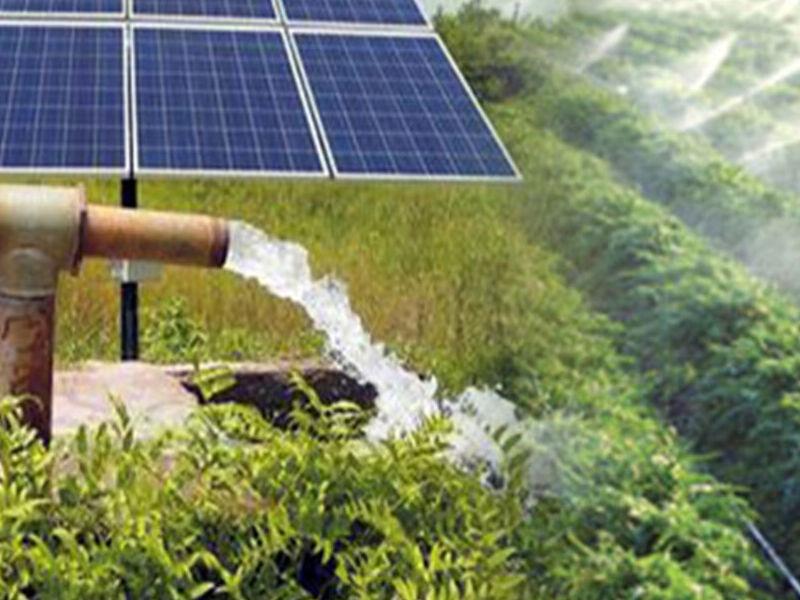 Bombeo de agua con energía solar