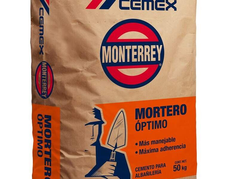 Cemento Mortero 50 Kg MÉXICO DF