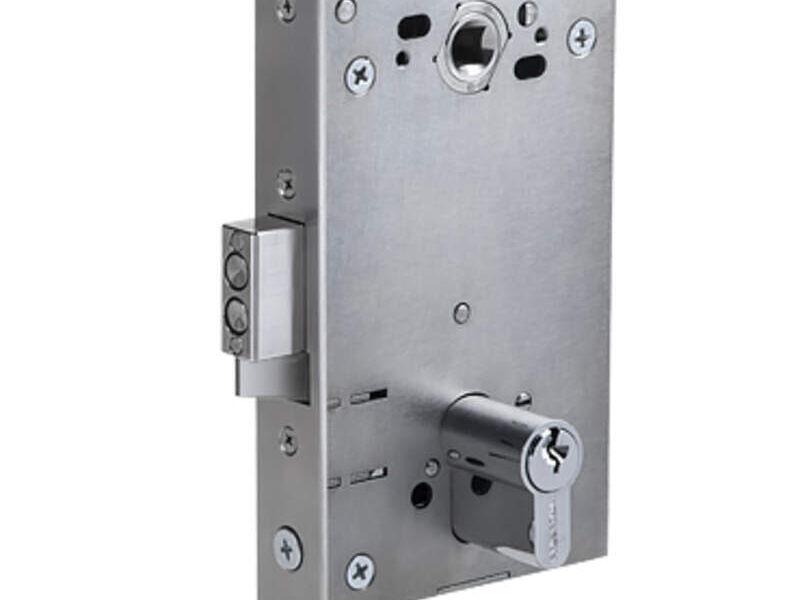 Cerradura embutida electromecánica
