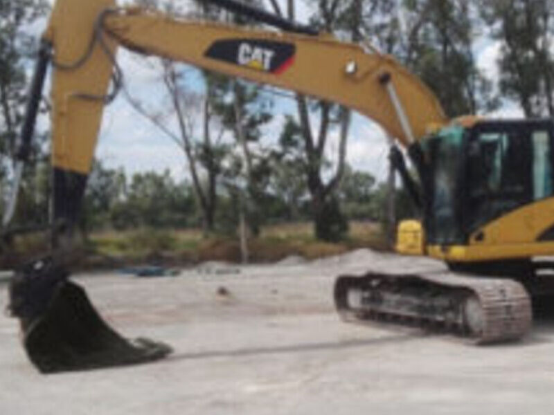 Excavadora Caterpillar 323DL MÉXICO DF