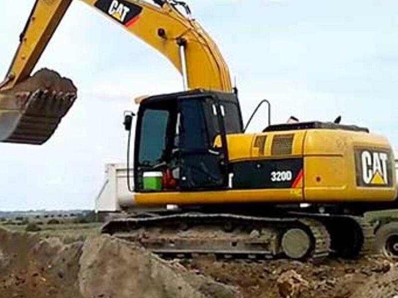 Excavadora caterpillar modelo 320 D