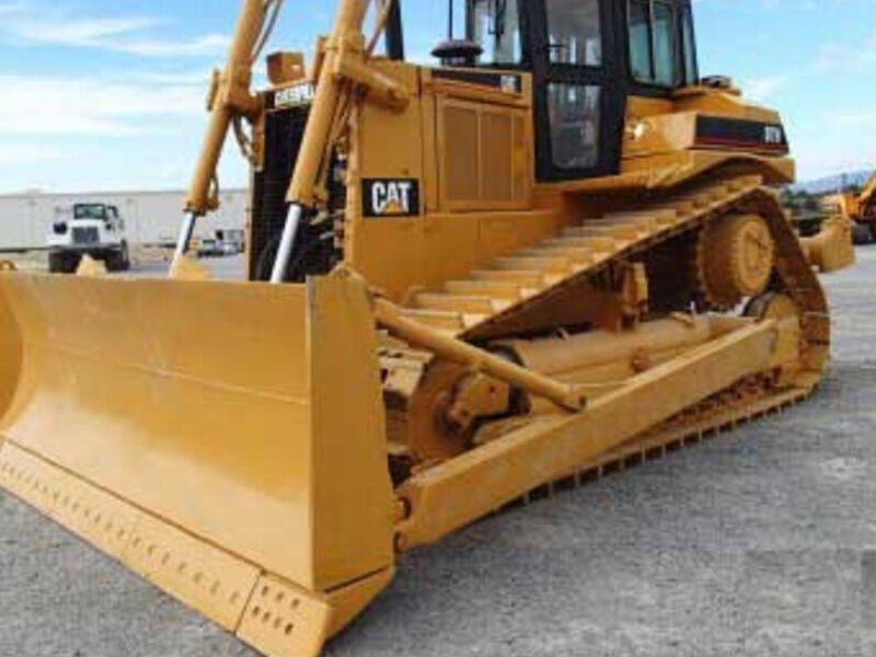Tractor Caterpillar modelo D7H  MÉXICO DF