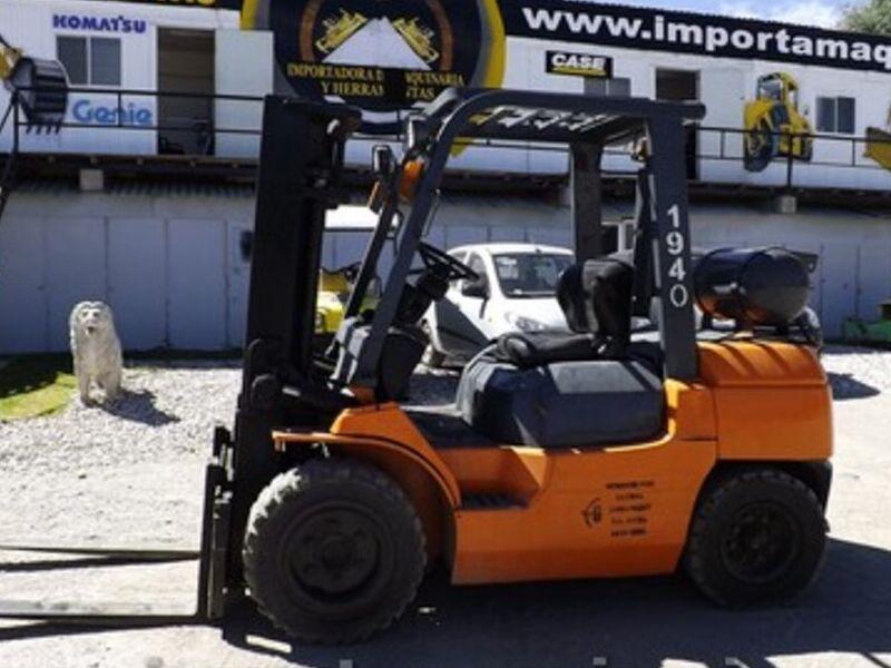 Montacargas Toyota 7FGU35 MÉXICO DF